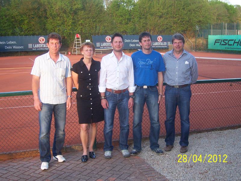 Tennis Schleiferlturnier 2012 Sieger
