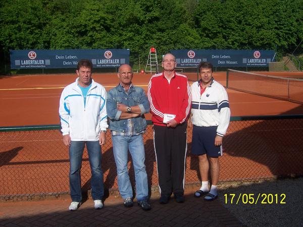 Sieger Vatertagsturnier Tennis TC Schierling
