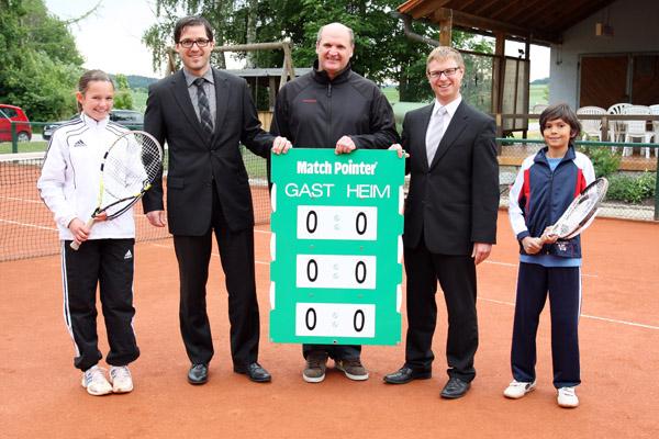Raiffeisenbank Sponsor Tennis Schierling