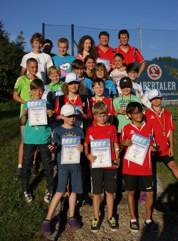 Tennis Schierling Marktmeisterschaften Jugend