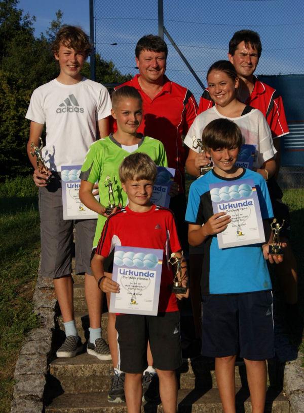 TC Schierling Tennis Sieger Marktmeisterschaft