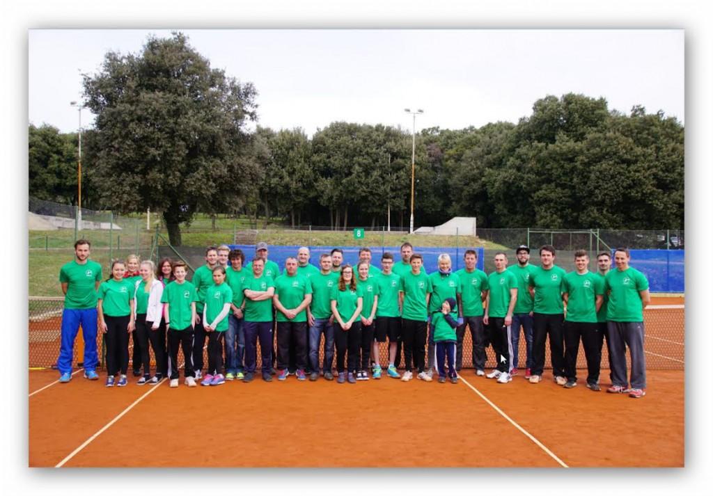 Tenniscamp Kroatien 2015